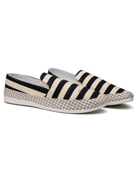 زلة، عن، أحذية - أسود 41