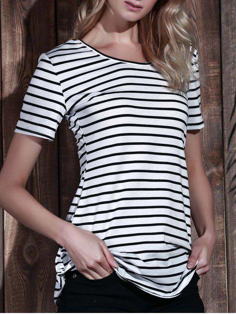 lady Stripes Tunic T-Shirt - STRIPE L Mobile