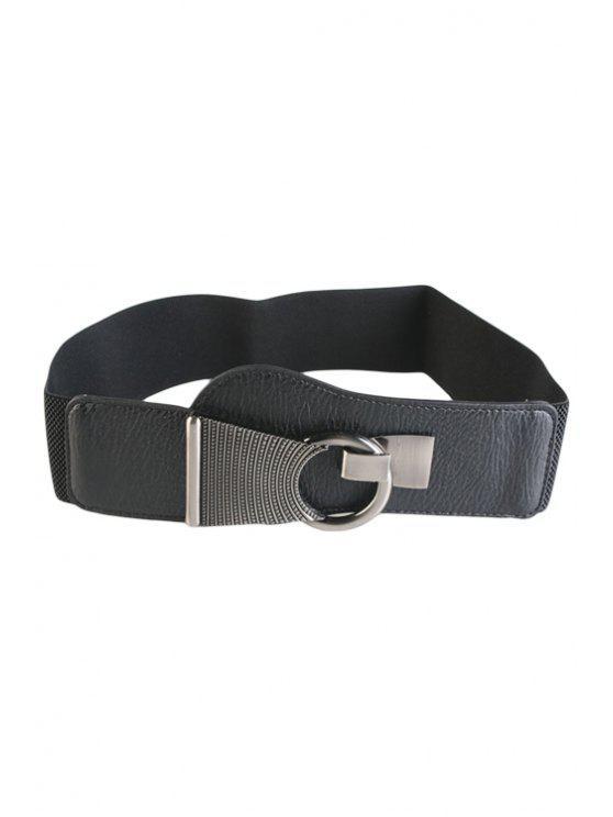 Crochet Boucle ceinture élastique - Noir