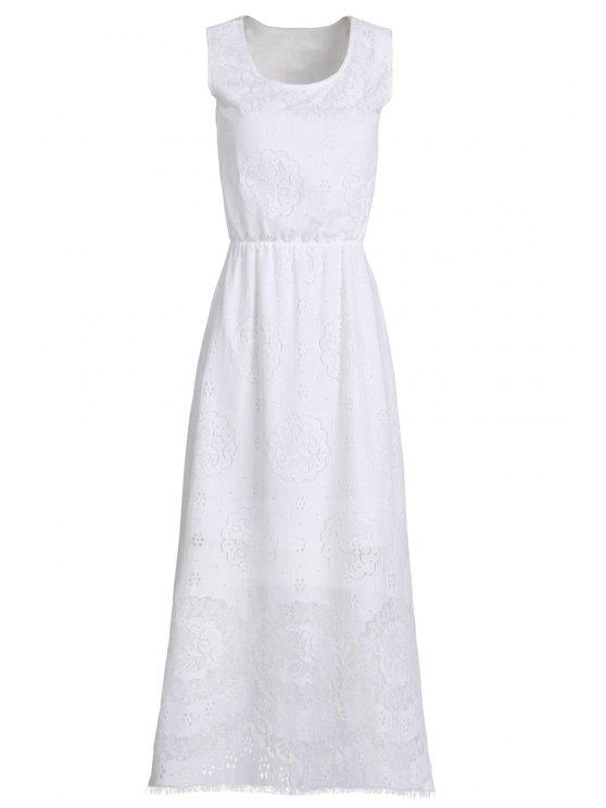 Langes kleid weiss