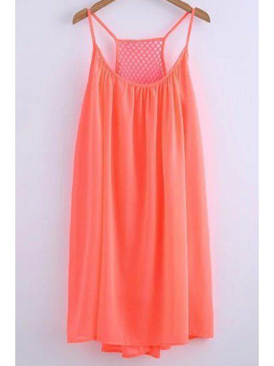 best Chiffon Mesh Design Flippy Dress - JACINTH M