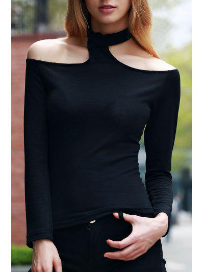 Long Sleeve Solid Color T Shirt