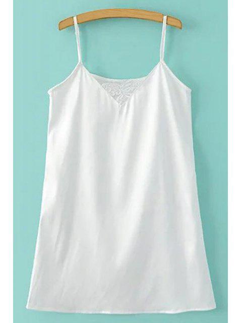 latest Sheer Mesh Dress and Cami Slip Dress Twinset - BLACK L Mobile