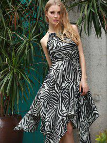 Resultado de imagem para animal print dresses zaful zebra