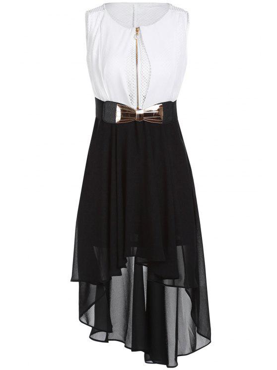 Irregular Chiffon Dress