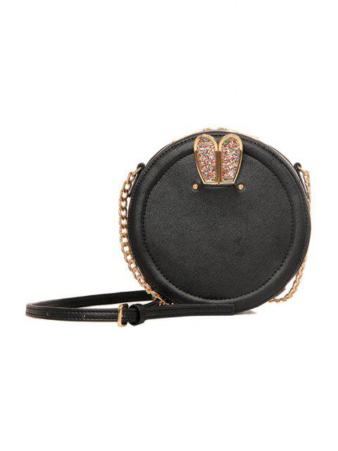 outfits Sequins Rabbit Ear Chains Crossbody Bag -   Mobile