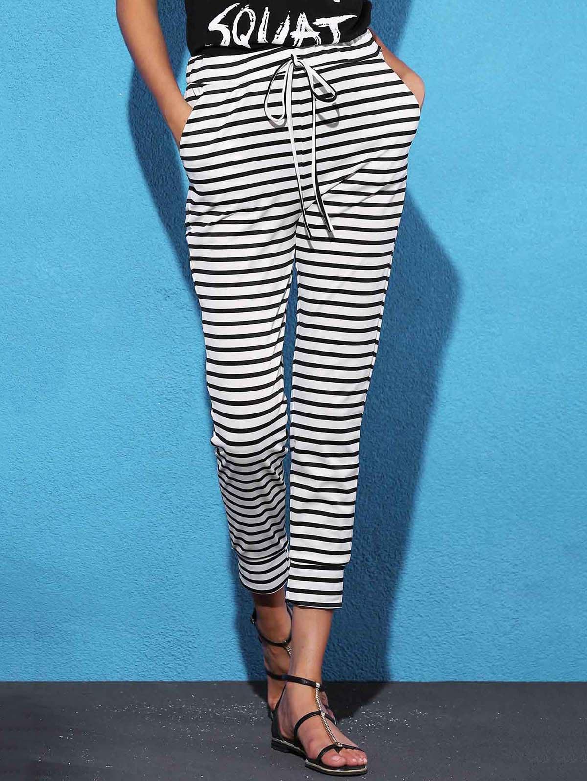 Striped Sweat Jogger Pants 177159904