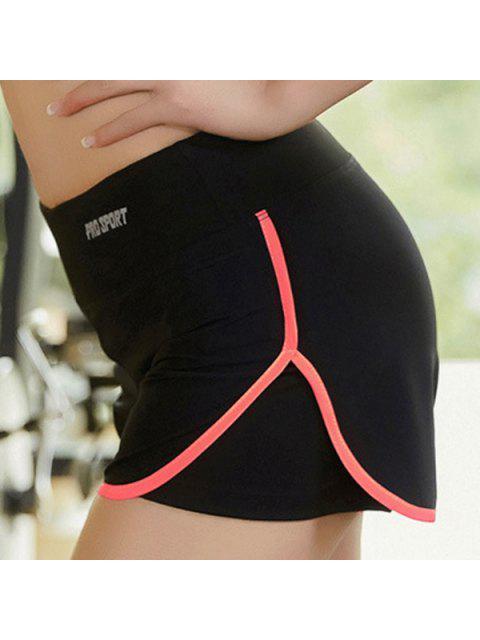 buy Skinny Multicolor Super-Elastic Sport Shorts -   Mobile