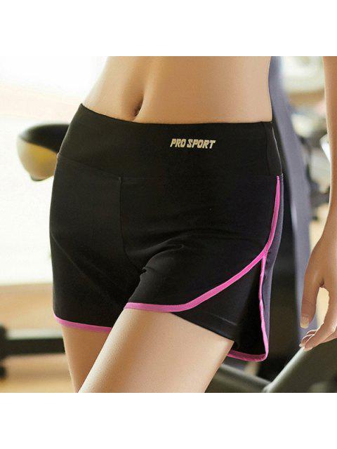 online Skinny Multicolor Super-Elastic Sport Shorts -   Mobile