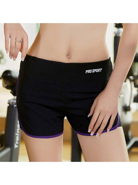 hot Skinny Multicolor Super-Elastic Sport Shorts -   Mobile