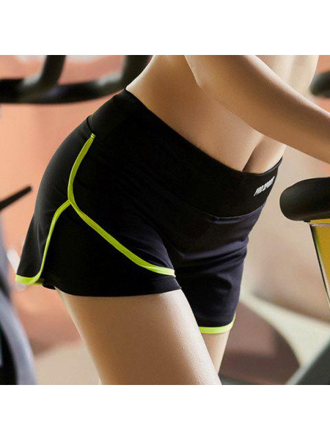 outfits Skinny Multicolor Super-Elastic Sport Shorts -   Mobile