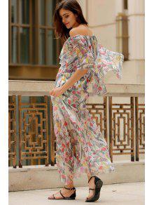Half Sleeve Chiffon Dresses