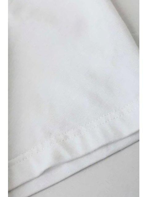 Montage Pocket col rond T-shirt à manches courtes - Bleu Cadette S Mobile