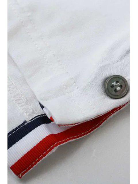 buy Fitting Pocket Round Neck Short Sleeve T-Shirt - BLACK L Mobile