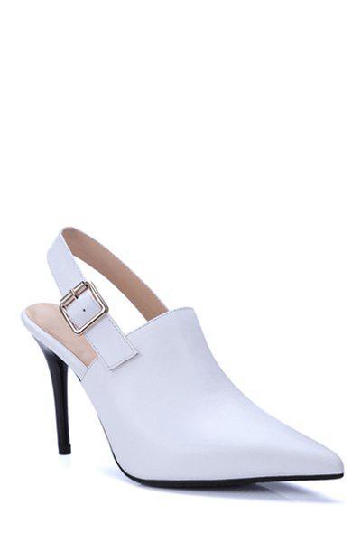 Slingback Pointed Toe Stiletto Heel Pumps 177970511