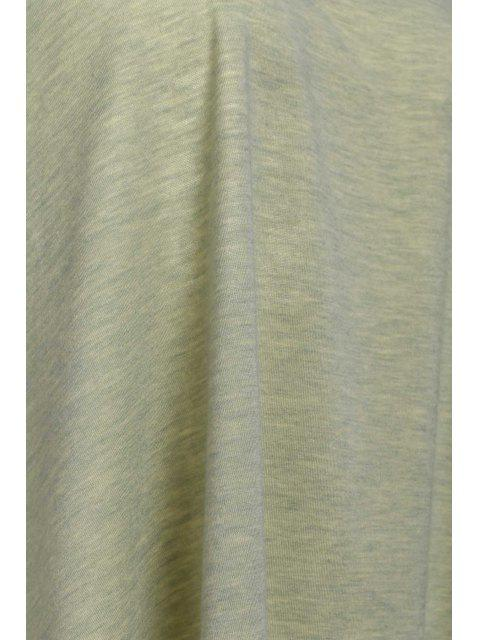 fancy Solid Color Cami Tank Top - OLIVE GREEN XL Mobile
