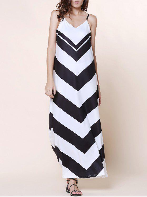 فستان شاطئ ماكسي بوهو - أسود M