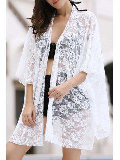 Lace Cover Up Fitting En Vrac - Blanc