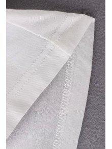 Floja Color V Pure Negro M Larga En Camiseta Manga Cuello gqxwfR6