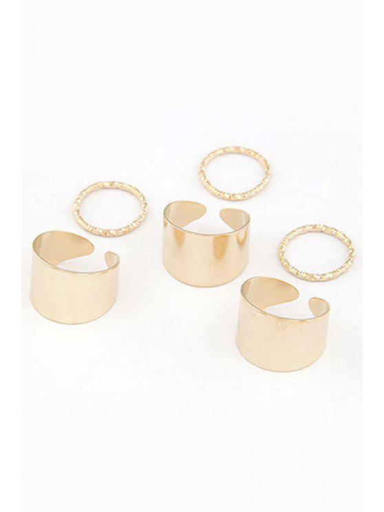 new Punk Style Rings - GOLDEN ONE-SIZE