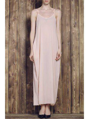 Solid Color Cami Maxi Dress