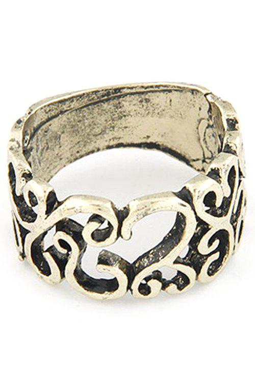 Hollow Retro Style Ring - GOLDEN ONE-SIZE