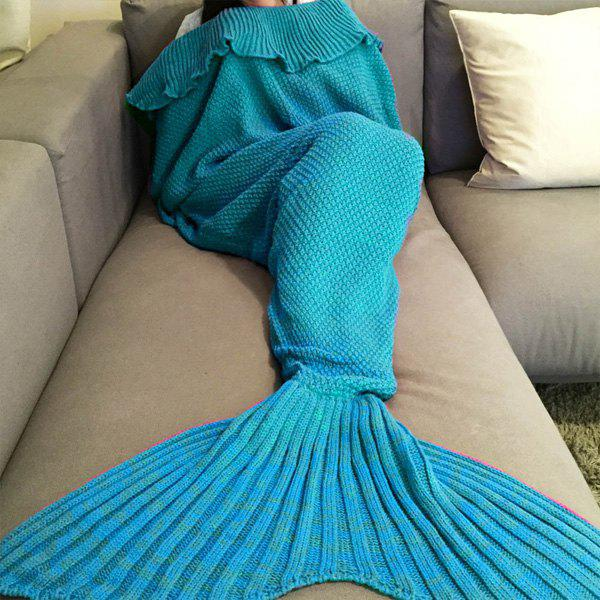 Maillot de trame de queue de sirène tricotée