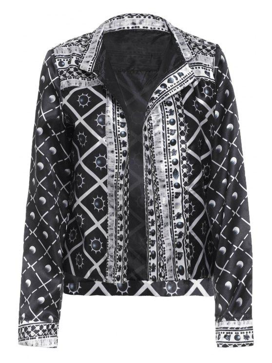 Verificado Sun Print Thin Jacket - Preto S