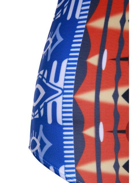 outfits Printed Push Up Swimwear - COLORMIX M Mobile