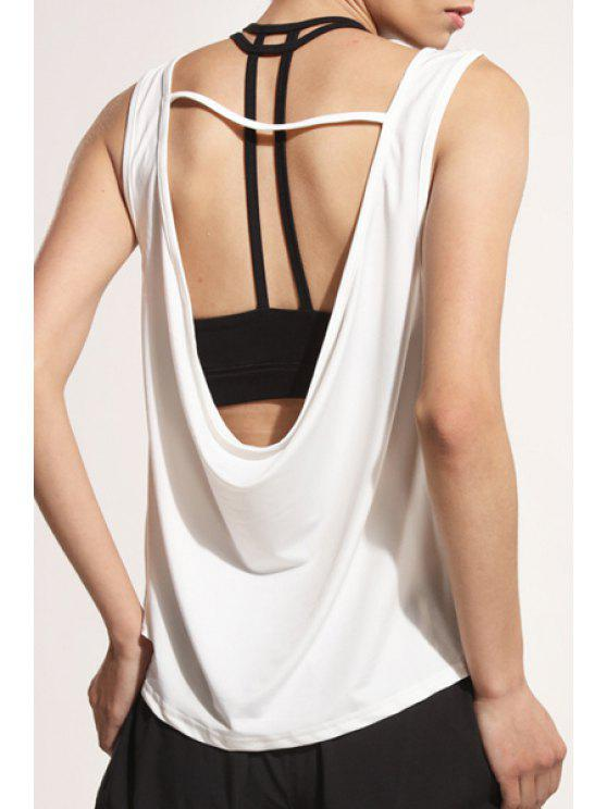 36d634c4d27e13 3% OFF  2019 Back Strap Relaxed Tank Top In WHITE