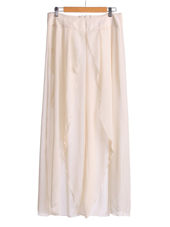 outfit Asymmetrical High Slit Pants - OFF-WHITE M