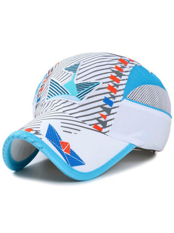 b43d91204ee Stylish Embroidery Twill And Small Flag Pattern Baseball Cap For Kids -  White