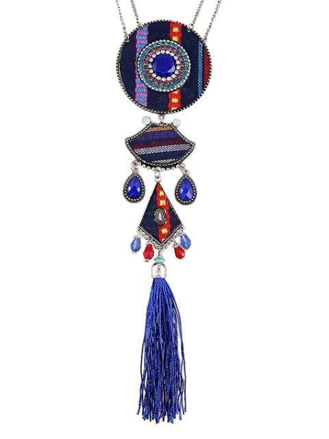 best Tassel Ethnic Style Pendant Necklace -   Mobile