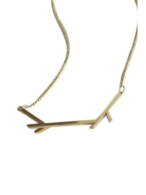 womens Tree Branch Pendant Necklace -   Mobile