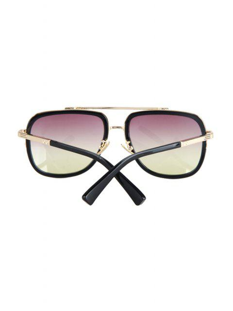 outfits Alloy Match Gradual Color Lenses Sunglasses -   Mobile