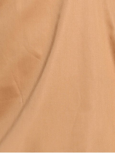 Jewel Neck Camel Robe droite - Camel 2XL Mobile