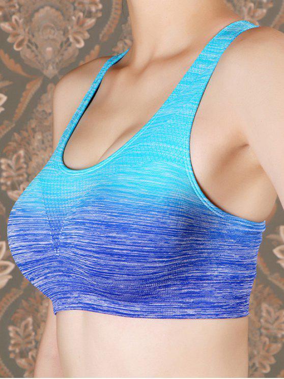 hot Breathtaking Sports Top - BLUE M