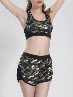 Camoflage Shorts Set - Camouflage L