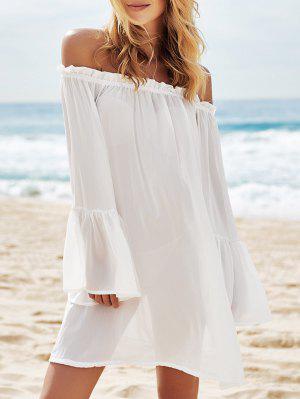 Large vêtement couvrant transparent à encolure dégagée pour femmes