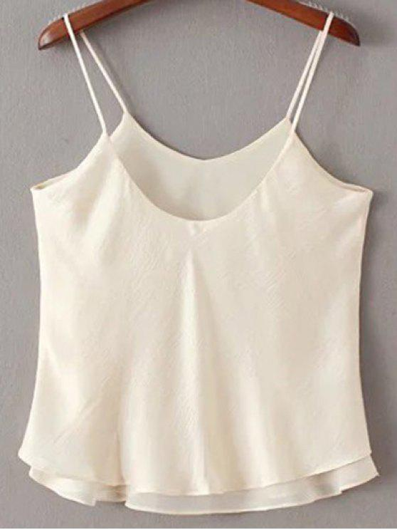 sale Double-Layered Camisole Top - OFF-WHITE S