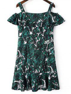 Ruffles Green Sundress - Green S