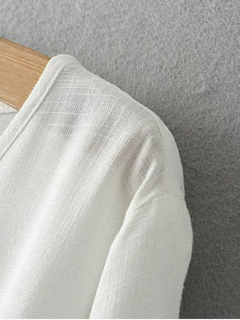 Plus Size Umbrella T-shirt - Tangerine 2XL Mobile