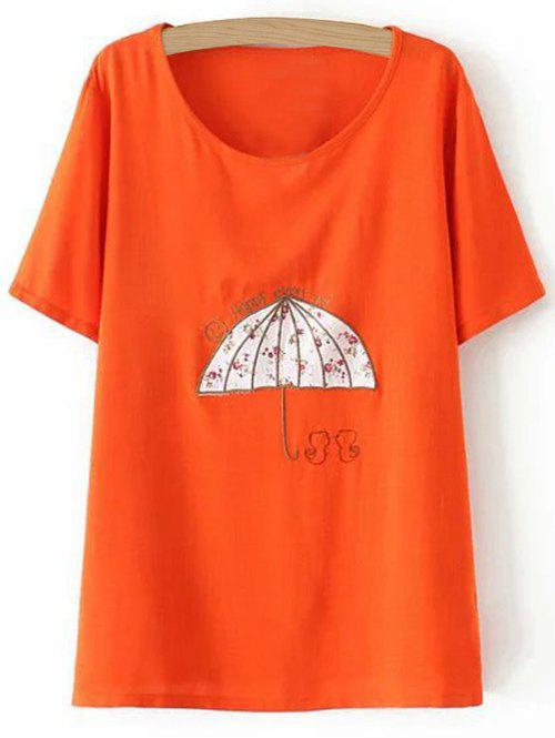 Plus Size Umbrella T-Shirt