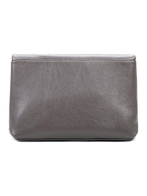affordable Chain Metal Solid Color Shoulder Bag -   Mobile