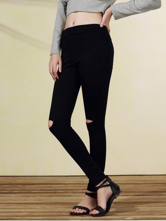 Pantalon Ripped2xl Casual Narrow Noir Pieds T3lFJ1Kc