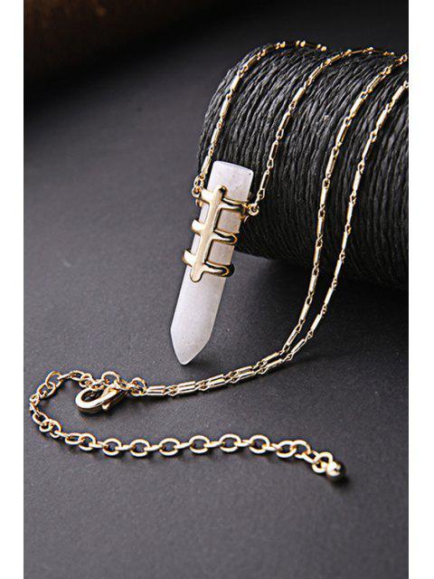 new Bullet Shape Pendant Necklace -   Mobile