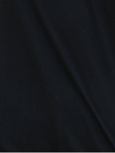 Pocket capuche Design T-shirt - Noir 2XL Mobile