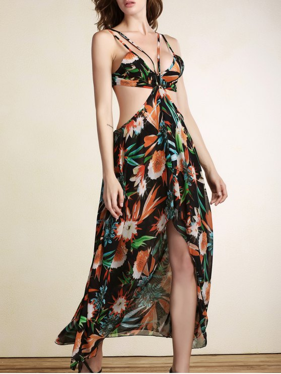Robe en mousseline d'été Breezy - Multicolore S