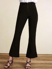 Pantalon Noir Taille Haute Boot Cut - Noir 2xl