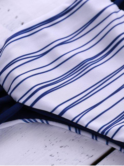 women's Stripes Cami Bikini Set - STRIPE S Mobile